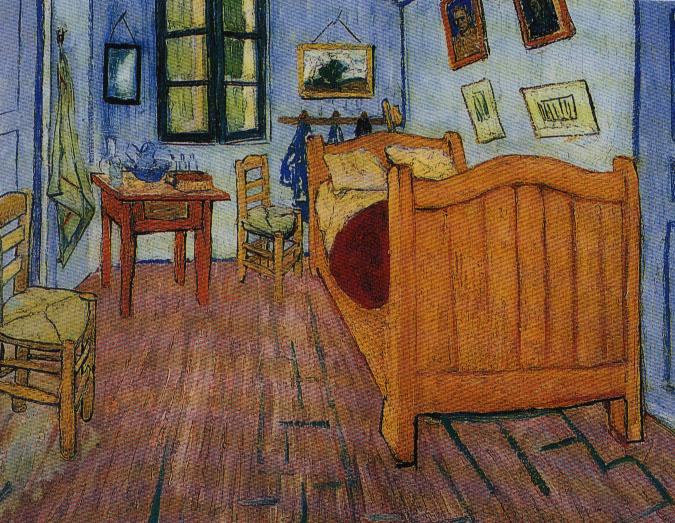 Van gogh3 - La camera da letto van gogh ...